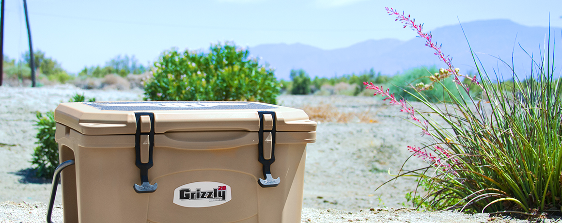 Grizzly Coolers brands hero background