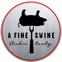 A Fine Swine BBQ Sauces Logo