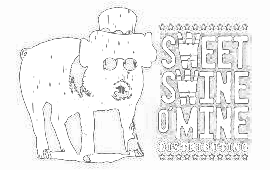 Lambert's Sweet Swine O' Mine BBQ Sauces Logo