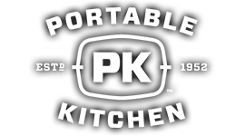 Portable Kitchen Grill Logo