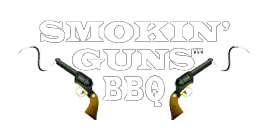 Smokin' Guns BBQ Sauces Logo