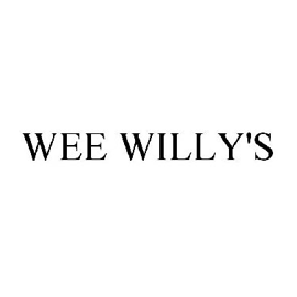 Wee Willy's Sauces Logo