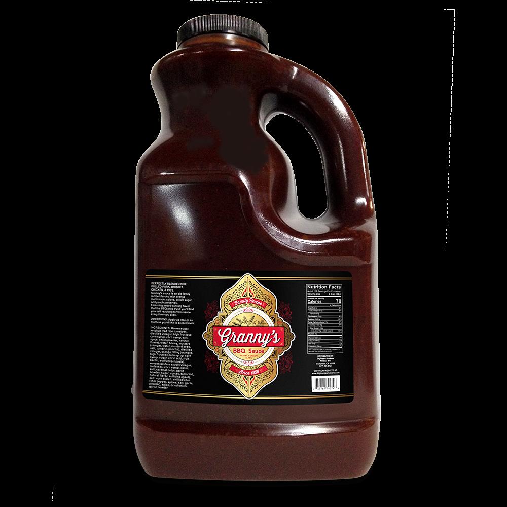 Grannys Bbq Sauce - 1 Gallon