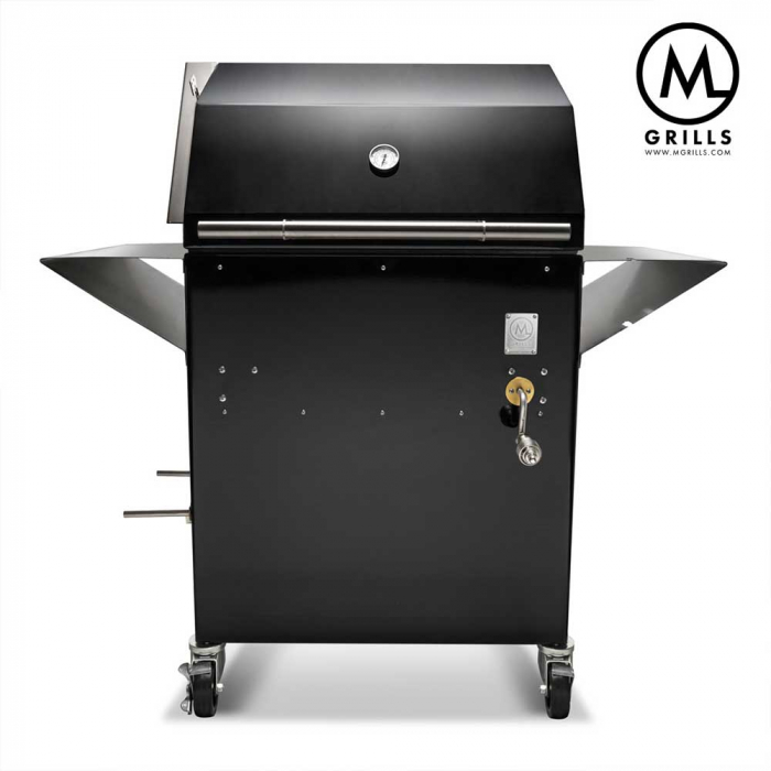 M1 From Mgrills Charcoal Grill Wood Smoker