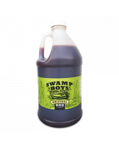 Swamp Boys Original BBQ Sauce 1/2 gallon