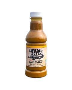 Swamp Boys Rub's Bold Yeller Mustard Sauce 19oz