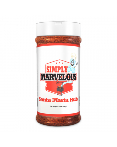 Simply Marvelous Santa Maria Rub - 16oz
