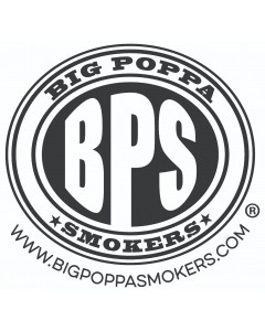 Big Poppa Smokers outdoor cooking store circular logo