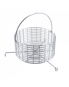"""""""Beefy"""" Stainless Steel Charcoal Nest"""