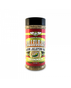 Jallelujah Jalapeño Bacon Rub - 6.6oz