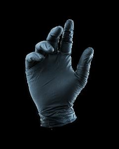 Black LifeGuard Nitrile Food Gloves