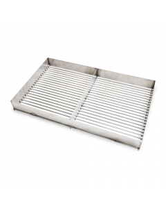 M Grills Stainless Steel Charcoal Grate with Sides