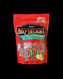 BBQr's Delight Apple Wood Pellet Bag - 2 lb.