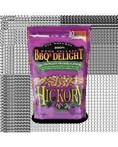 BBQr's Delight Hickory Wood Pellet Bag - 2 lb.