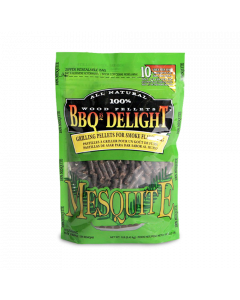 BBQr's Delight Mesquite Wood Pellet Bag - 2 lb.