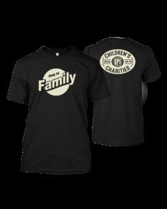 BBQ is Family Black T-shirt