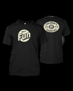 BBQ is Fun Black T-shirt
