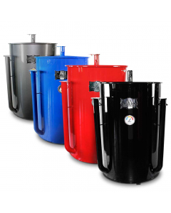 Gateway Drum Smoker Sizzle with Logo Plate