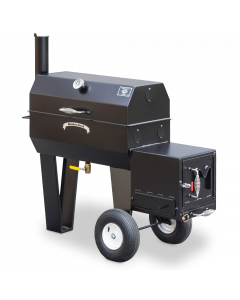 Meadow Creek SQ36 Offset BBQ Smoker