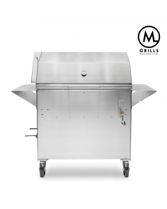 M36 Stainless Steel Charcoal Grill & Smoker
