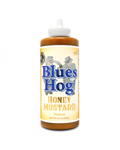 Blues Hog Honey Mustard Sauce - Squeeze Bottle