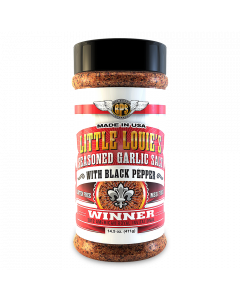 Little Louie's Garlic Salt w/ Black Pepper - 14.5oz