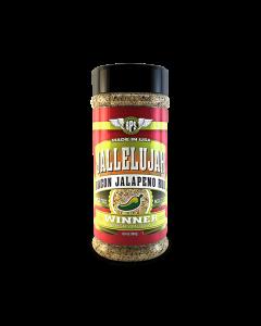 Jallelujah Jalapeño Bacon Rub - 6.6oz