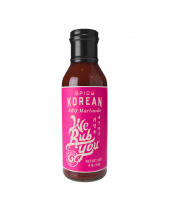 Spicy Korean BBQ Marinade - 15oz