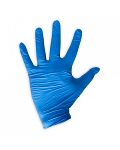 Blue LifeGuard Nitrile Food Gloves