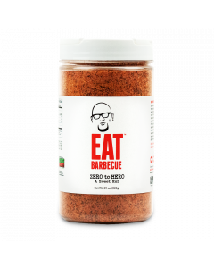 EAT BARBECUE Zero To Hero Sweet Rub - 29oz Shaker