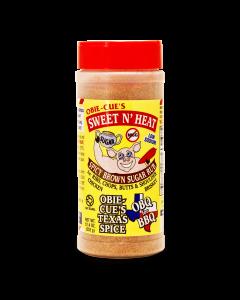Obie-Cue's Sweet N' Heat BBQ Rub - 12.4oz