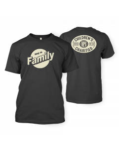 BBQ is Family Dark Gray T-shirt