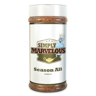 Simply Marvelous BBQ Rub Season All Seasoning - 15oz