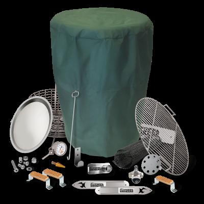 BPS DIY Drum Smoker Kit - Pro Package