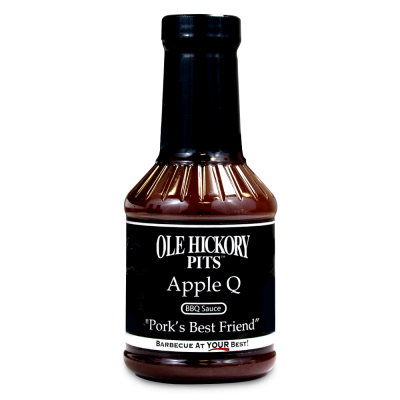 Ole Hickory Pits Apple Q Sauce - 19oz