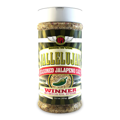 Jallelujah Seasoned Jalapeno Salt - 14oz