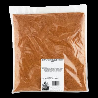Simply Marvelous BBQ Cherry BBQ Rub - 5lb Bag