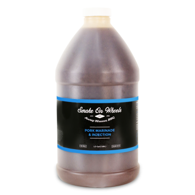 Smoke on Wheels Pork Marinade & Injection - 1/2 Gallon