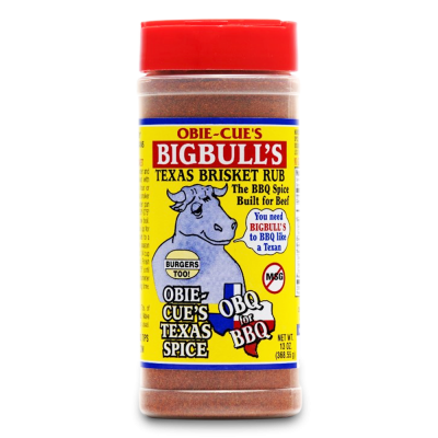 Obie-Cue's Big Bulls Brisket Rub - 13oz