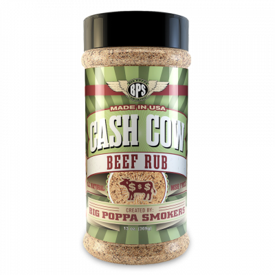 Cash Cow Beef Rub - 13oz