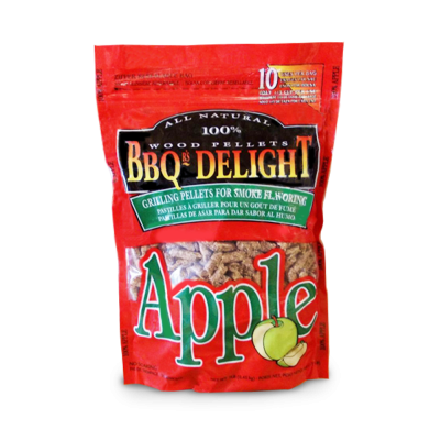 BBQr's Delight Apple Wood Pellet Bag - 2 lb.