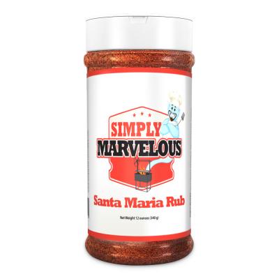 Simply Marvelous Santa Maria Rub - 16oz