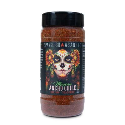 Spanglish Asadero Mexican Ancho Chile Rub - 10oz