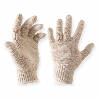 Knit Cotton HOT BBQ Gloves - 12 pairs