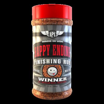 Happy Ending BBQ Finishing Rub - 13oz
