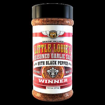 Little Louie's Garlic Salt w/ Black Pepper - 14.5oz