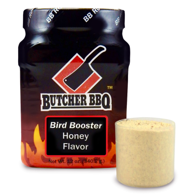 Butcher BBQ Bird Booster Injection - Honey Flavor 12oz