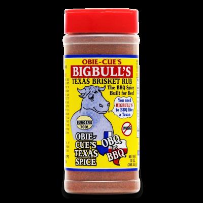 Obie-Cue's Big Bulls Brisket Rub - 13oz