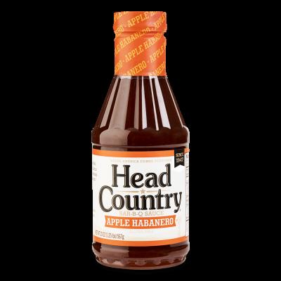 Head Country Apple Habanero Sauce - 20oz