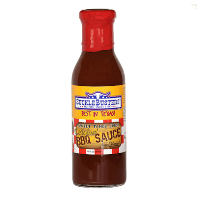 Sucklebusters Original BBQ Sauce - 12oz